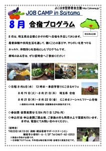 Microsoft Word - 2014年8月さいたま県合宿チラシ-002